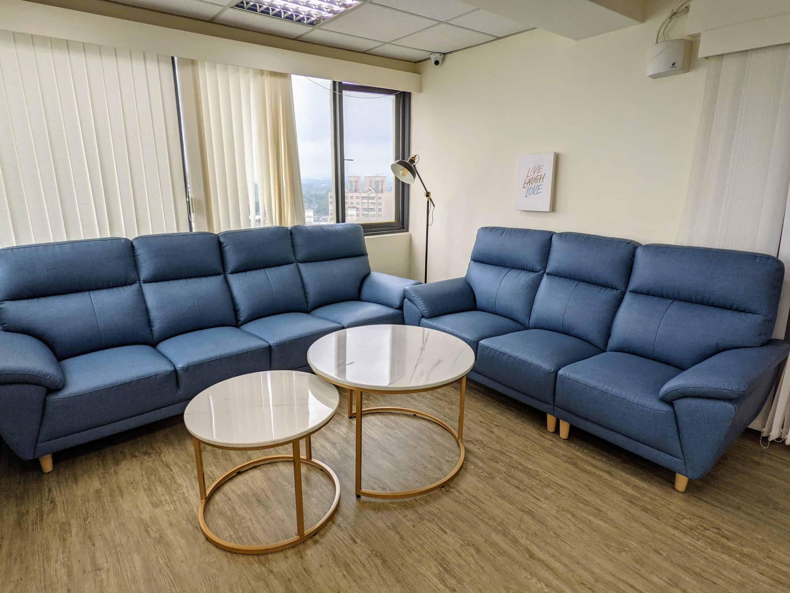 易享空間沙發區